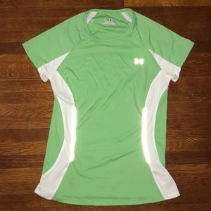 Under Armour Green Athletic Top